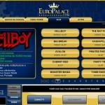 Nuovi Giochi Casino Flash su Europalace