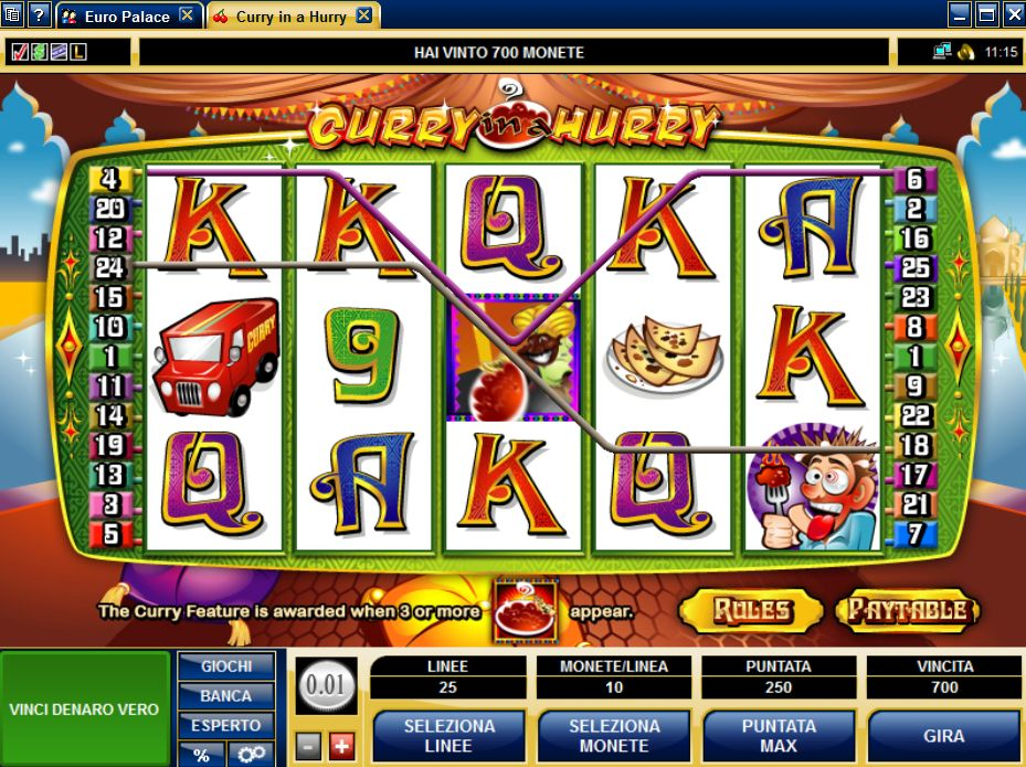 Curry In A Hurry Slots