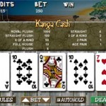 Kanga Cash video poker