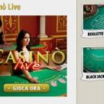 Su Big Casino arrivano roulette e blackjack live