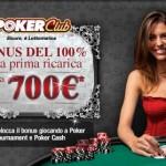 Poker Club di Lottomatica lancia nuovi Tornei