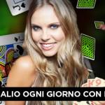 Al Blackjack Live di 888 Casino ti aspettano ogni giorno 750 euro di Bonus!
