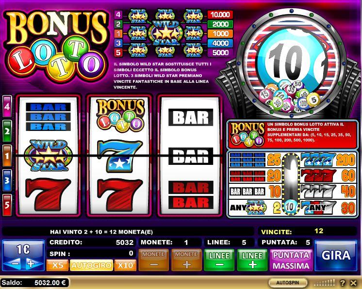 Lotto Slot