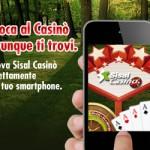 Su Sisal Casino ora puoi giocare dal tuo smartphone!