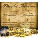 Con Titanbet Treasure vinci fantastici premi!
