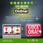 Prova su Unibet.it le nuove slot machine con licenza AAMS