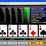Video Poker guida per principianti