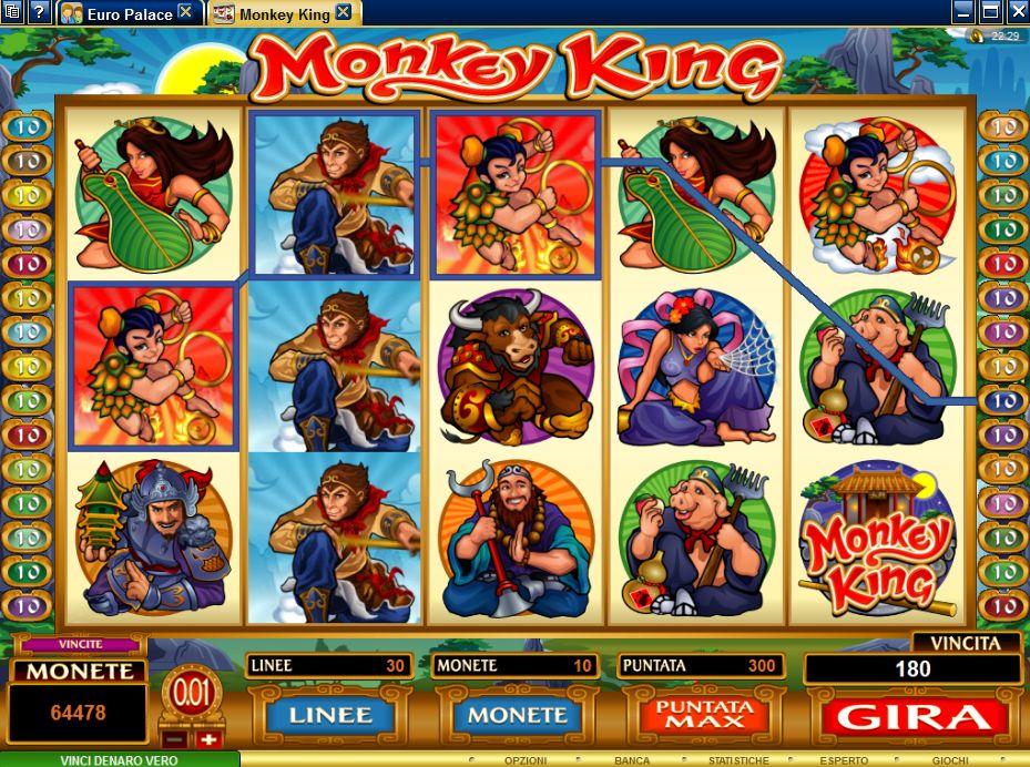 The Monkey King Slot Machine