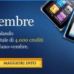 Vinci 5 Ipod Nano 8 GB con la promozione Nano-vembre