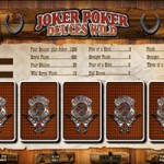 Le regole del Video Poker Joker Deuces Wild