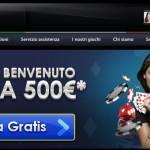 Betway nuovo casino AAMS con 500 euro Bonus Benvenuto